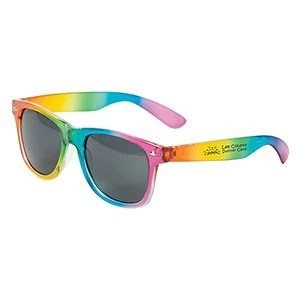 Custom Rainbow Sunglasses