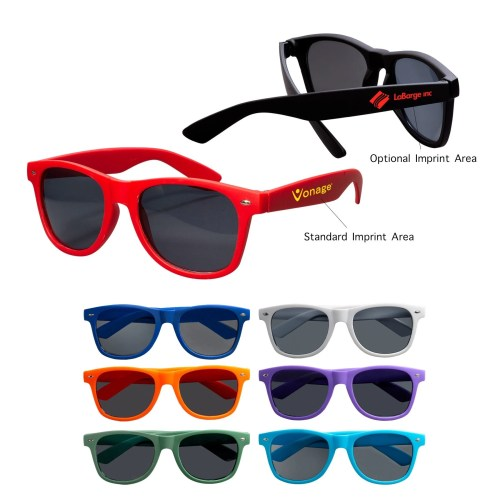 Rubberized Finish Custom Sunglasses