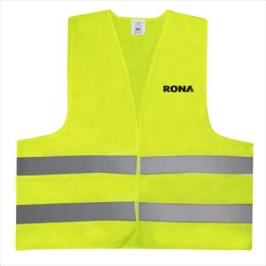 Custom Yellow Safety Vest