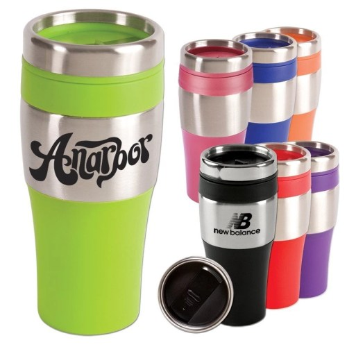 Promotional Stainless Steel Tumbler - 16 oz