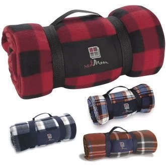 Custom Plaid Blanket
