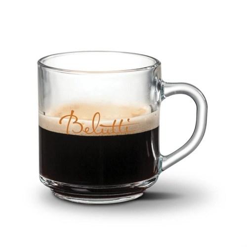 Clear Glass Custom Mug
