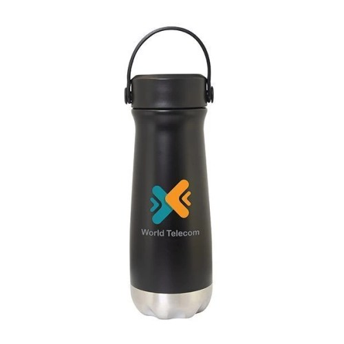 Insulated Stainless Steel Custom Water Bottle - 18.6 oz