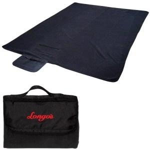 Fleece Roll-Up Custom Blanket w/ Carry Handle