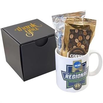 Gourmet Coffee Custom Mug Gift Set