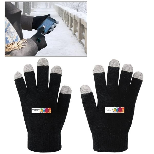 Two Toned Custom Touch Screen Gloves