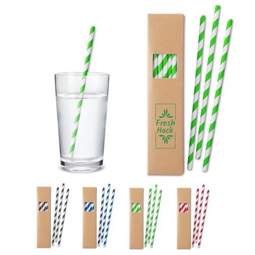 Custom Paper Straw Set