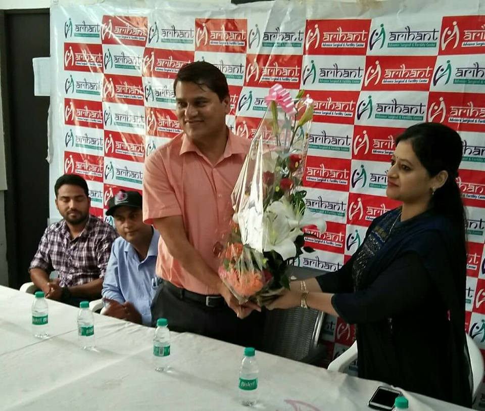 3 days free breast cancer screening camp was organized by Can Protect Foundation at Arhant Hospital