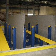 Plate Rack in Pit