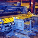 Sheet Shear Conveyor for scratch free shearing (click for larger view)