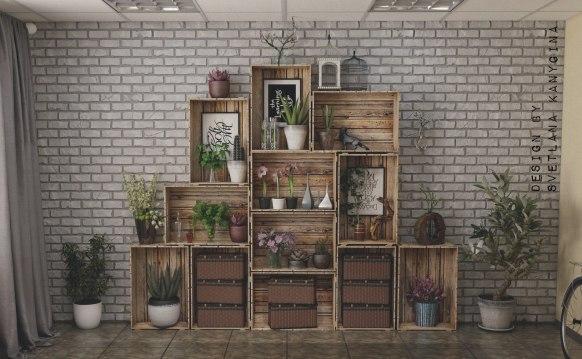 Furniture Unik Daur Ulang Dari Bahan Kayu Pallet Bekas