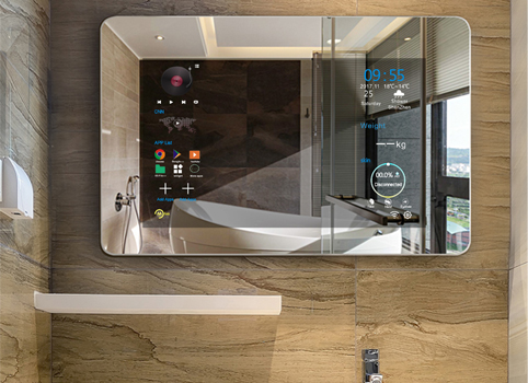 Smart Mirror with 43 LED screen  CANST CORP