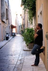 Smoke-break (Saint Tropez)