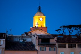 """The """"Eglise"""" at night"""