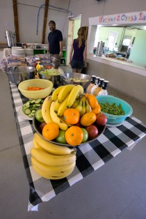 Fruity lunch