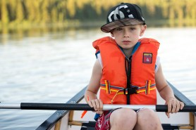 Canoeing is serious business!