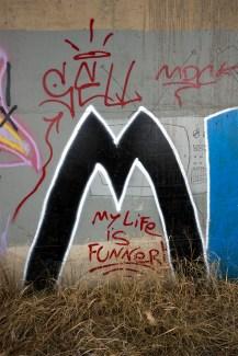 A graffiti artist's impeccable grammar