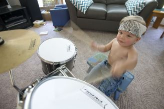 This is some serious drumming, people!