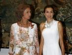 Queen Sofia and Princess Letizia