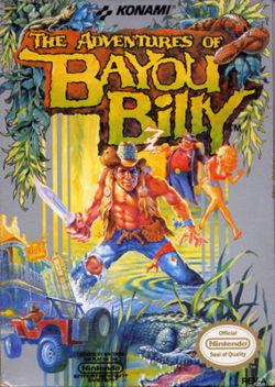 Bayou Billy Box Art