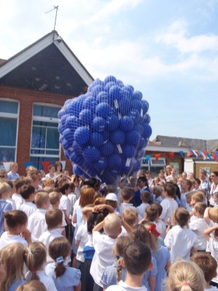 Balloon release to celebrate 100 years of Canterbury Road