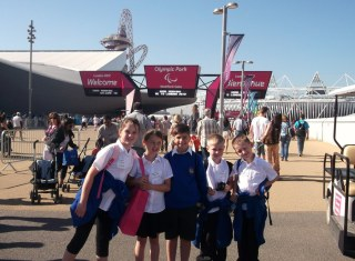 An enjoyable day out at the Paralympics