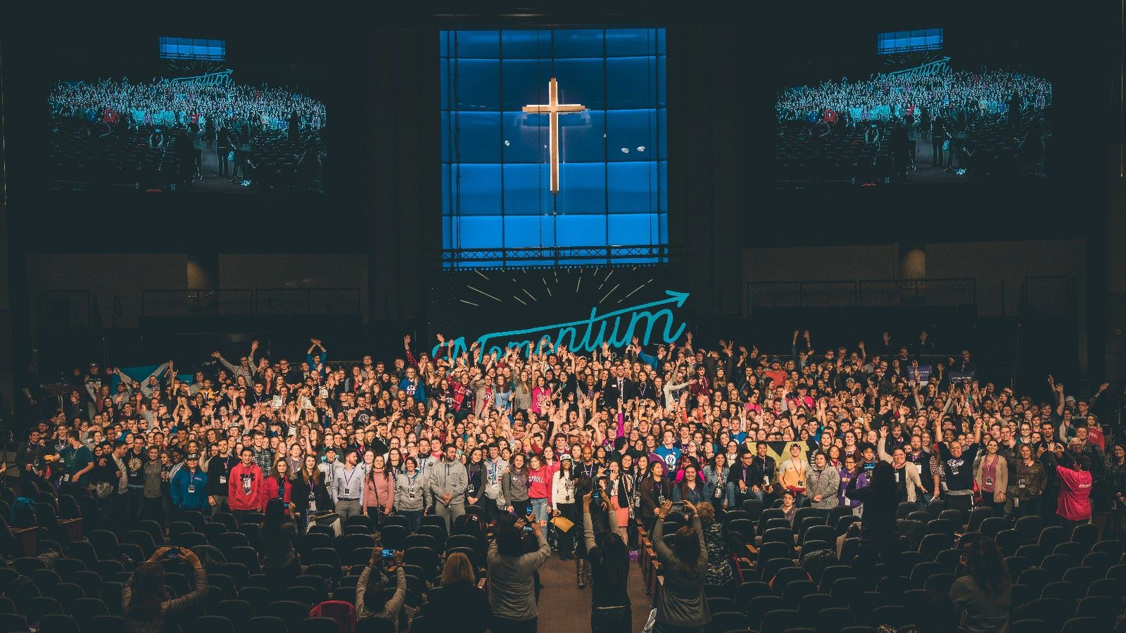 Students for life group picture at the National Annual Conference