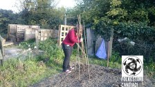 Folkestone, Cantiaci, Community, Transition Town, Allotment, Vegetables, Grow Your Own, Kent, Sustainable Living