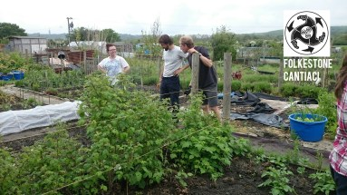 Cantiaci, Folkestone, Community, Transition Town, Sustainable, Allotment, Grow Your Own, Vegetables, Food