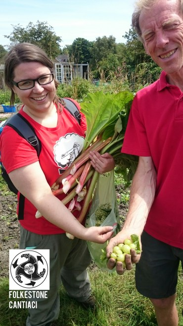 Fokestone, Cantiaci, Folkestone Cantiaci, Community, Transition Town, Allotment, Foraging, Organic, Vegetables