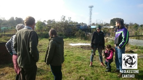 Folkestone Cantiaci, Cantiaci, Folkestone, Community, Transition Town, Allotment, Organic,