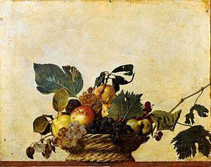 Caravaggio, <em>Natura morta</em>, 1596