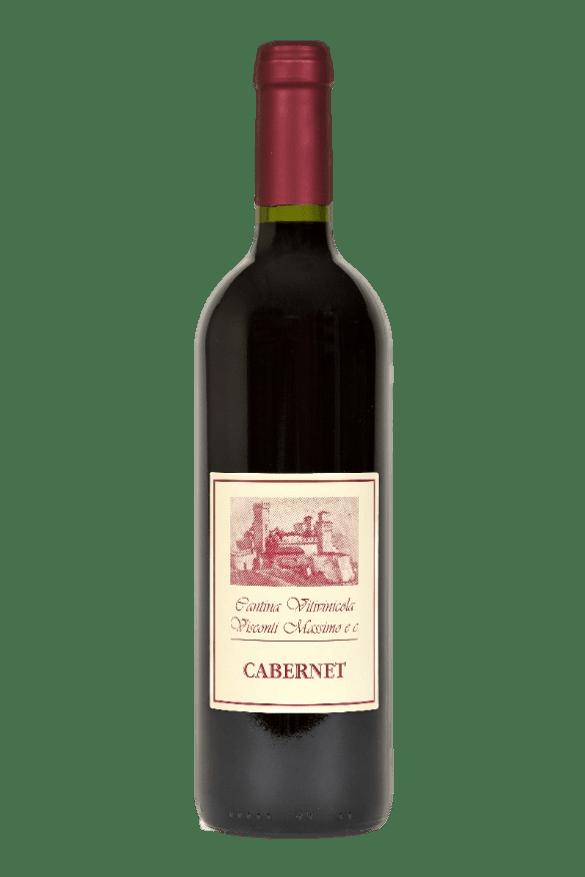 Bottiglia di Cabernet Sauvignon di Cantina Visconti