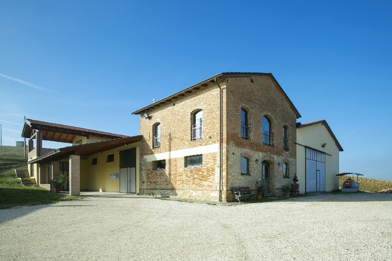 Cantina Visconti di Vigoleno - facciata esterna