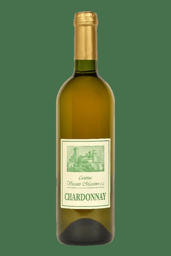 Bottiglia di Chardonnay di Cantina Visconti