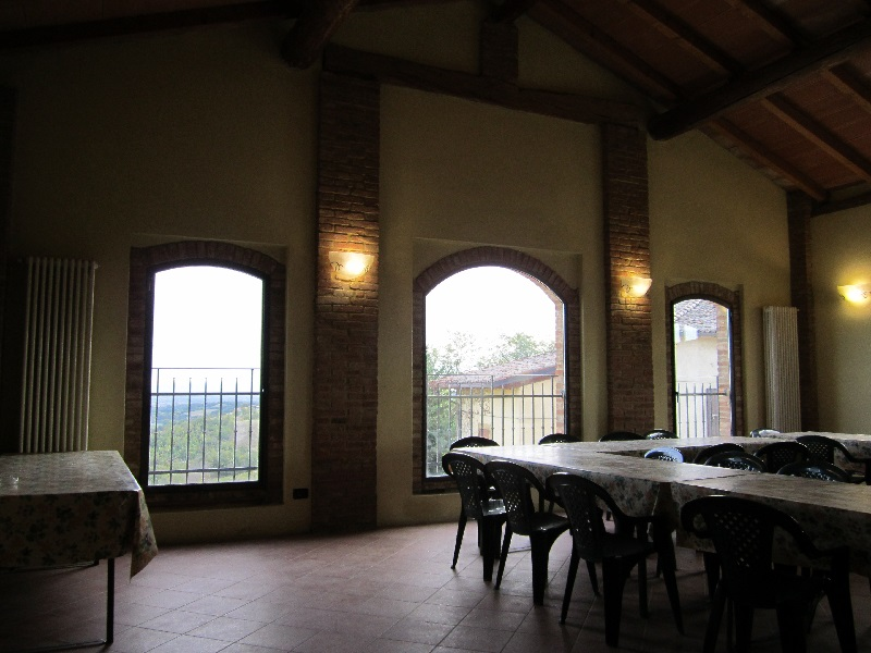 Sala Degustazione di Cantina Visconti adibita alle visite