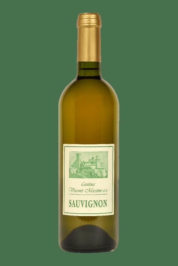 Bottiglia di Sauvignon di Cantina Visconti