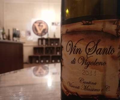 Etichetta Vin Santo di Vigoleno Visconti