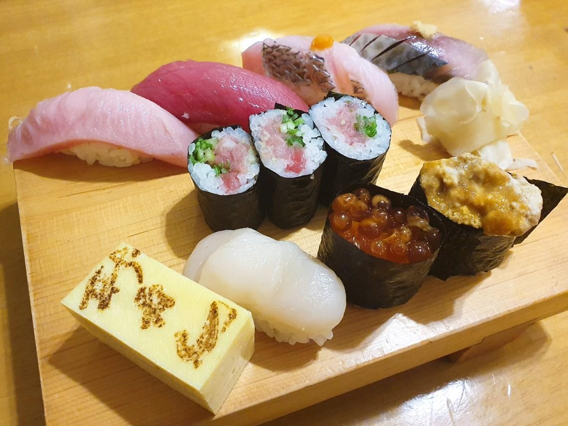 Menu Degustação Mesa Shin-Zushi_Combinado de Sushi
