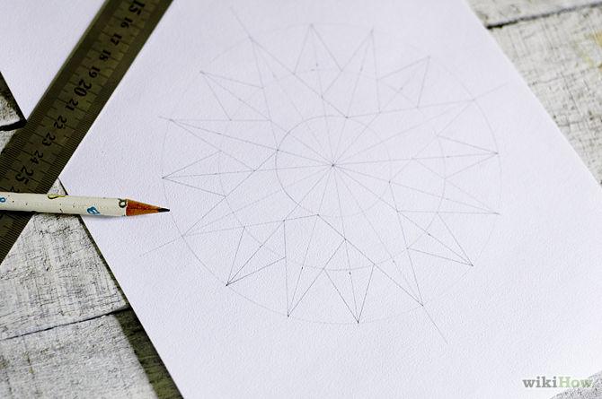 670px-Draw-a-Compass-Rose-Step-10
