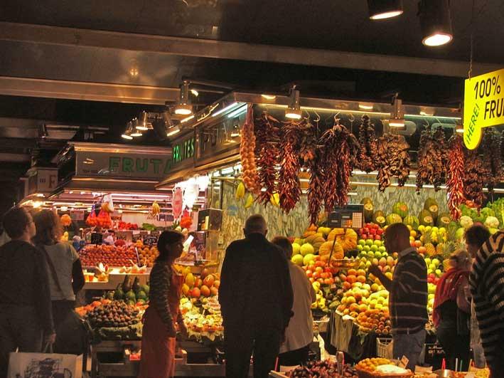 Barcelona-mercado