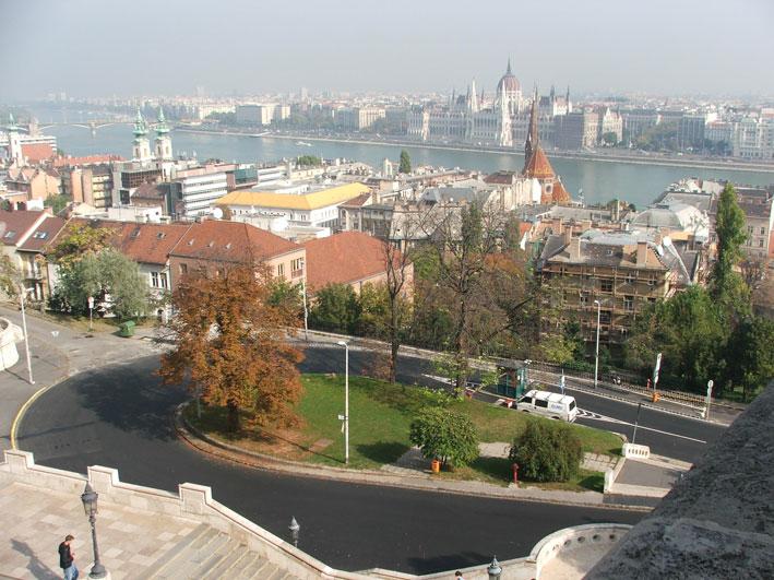 Budapeste-vista-de-Buda