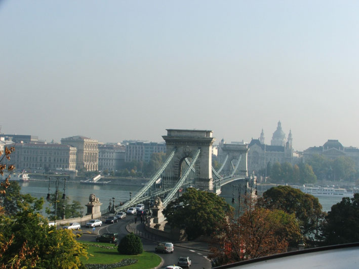 Budapeste-vista-ponte