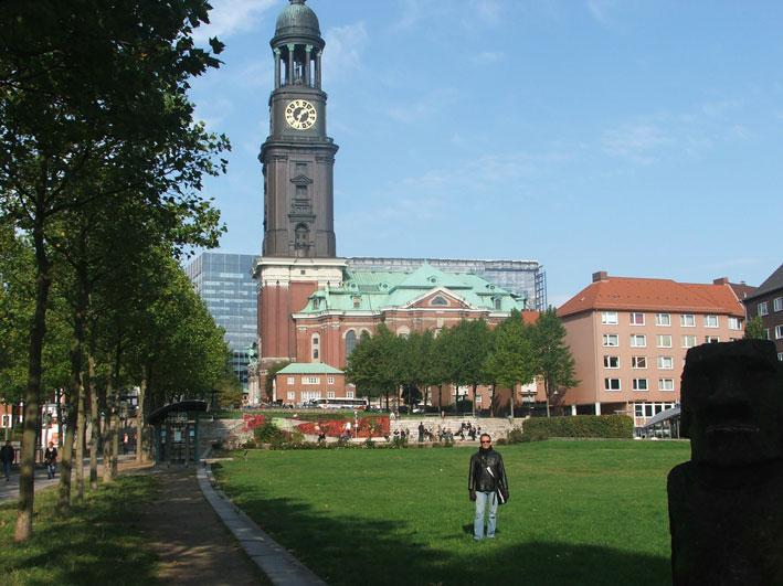 Hamburgo-igreja-e-parque