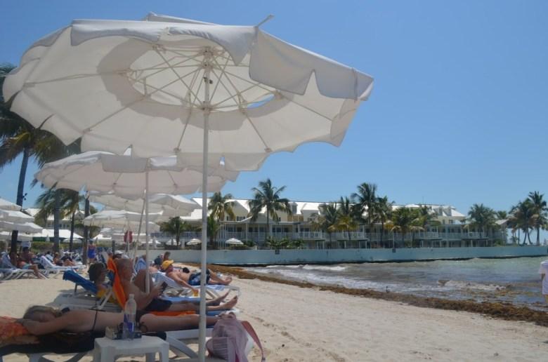 Key West cadeiras praia