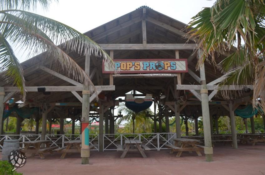 Castaway Cay restaurtante