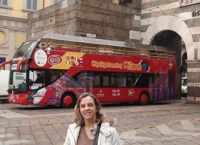 Ônibus turístico de 2 andares