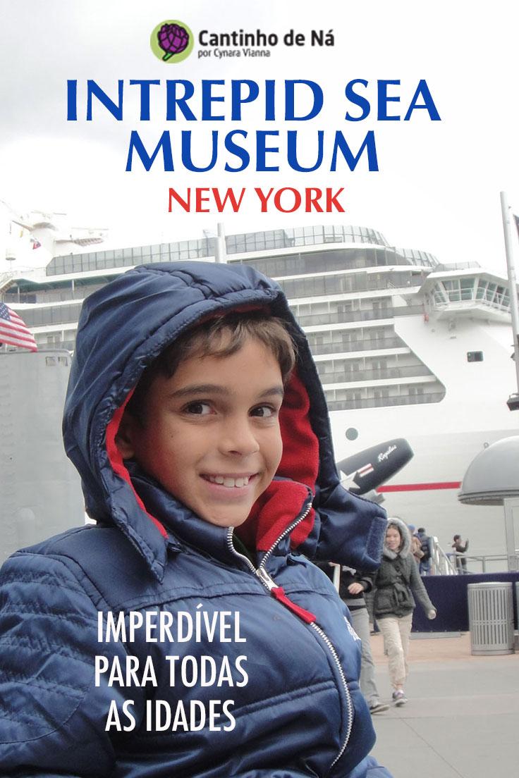Visita ao Intrepid Sea Museum em New York
