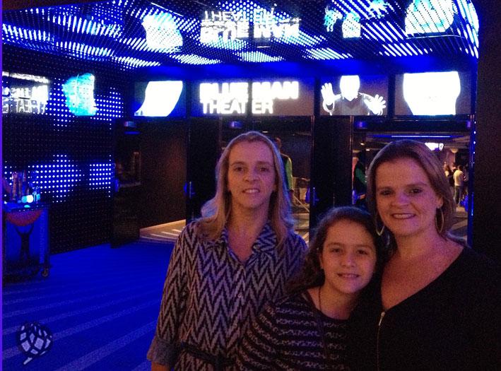 Blue Man Group em Las Vegas traz novidades