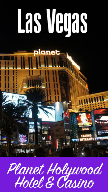 Review do Planet Hollywood em Las Vegas